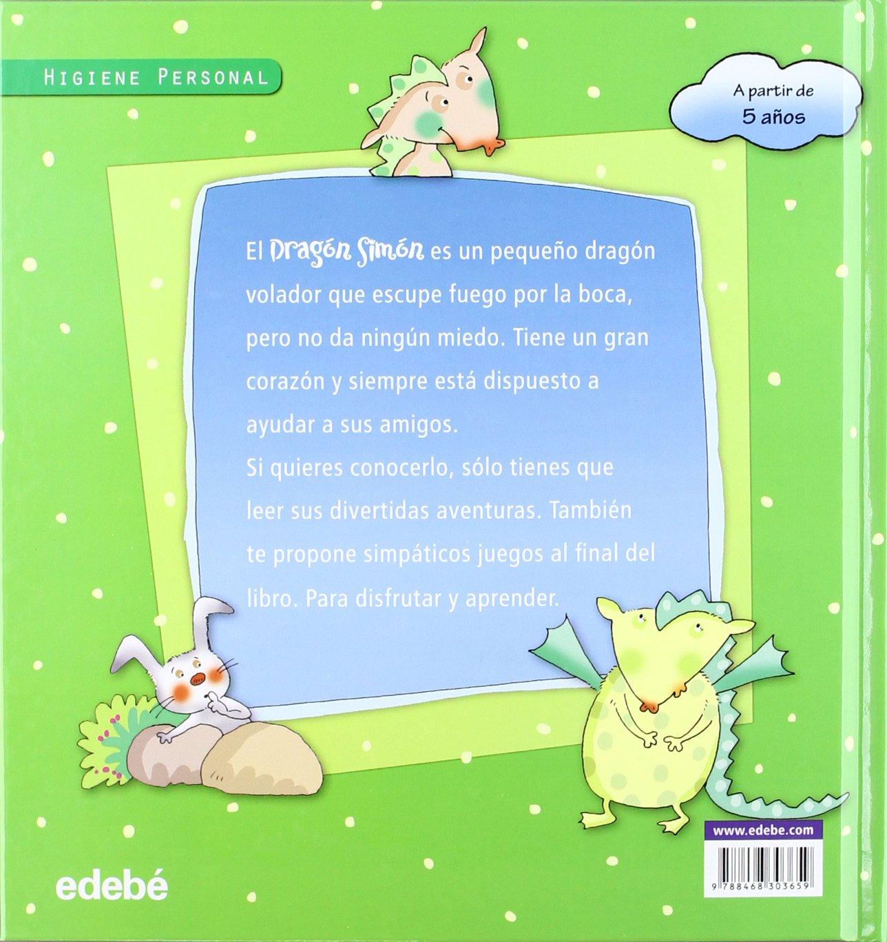 EL DRAGÓN SIMÓN Y el gigante Carasucia (Spanish Edition)