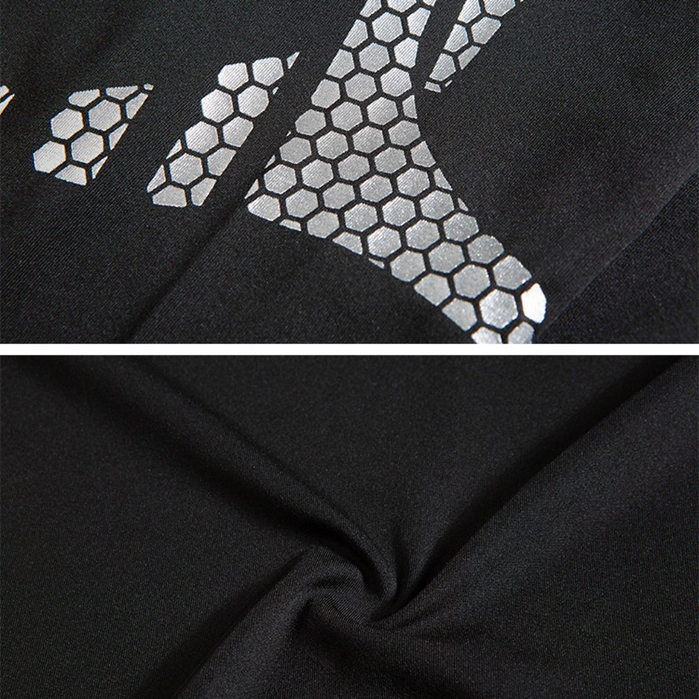 Dooxii Homme 4 Pi/èces V/êtements de Sport avec Hoodies Vestes Shirt Compression Collant Running Short S/échage Rapide pour Jogging Workout Football Ensemble de Fitness Tenue de Sportswear
