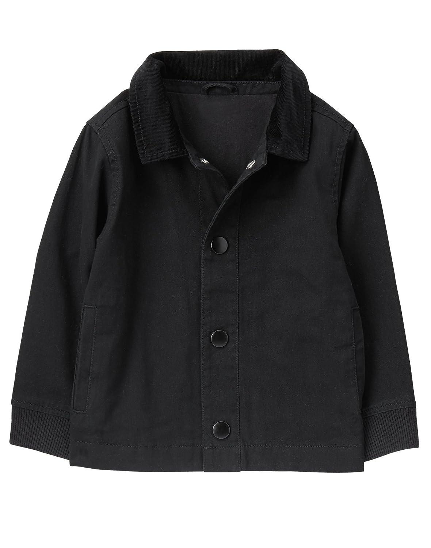 Crazy 8 Boys Black Twill Jacket