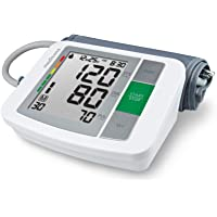 Medisana BU 510 - Tensiómetro para el brazo, pantalla de arritmia, escala de colores de los semáforos de la OMS, para…