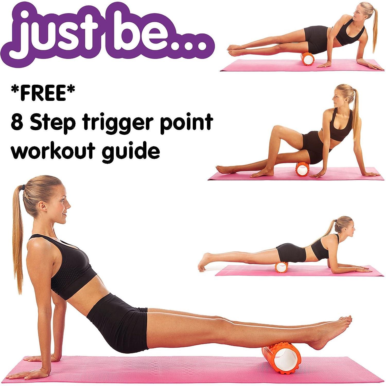 just be.. Rouleau de Massage de n/œuds Musculaires 2-en-1