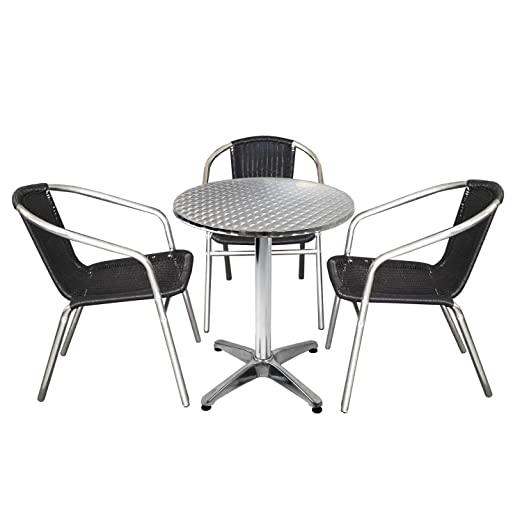 MultiStore 4tlg Balcón Terraza para Muebles sillas para - Set de ...
