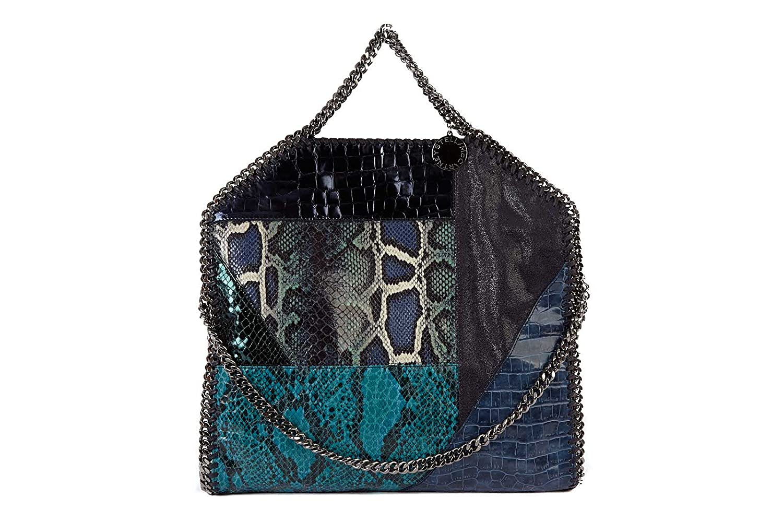 3b2a314b2894 Stella Mccartney women s handbag shopping bag purse falabella blu   Amazon.co.uk  Shoes   Bags