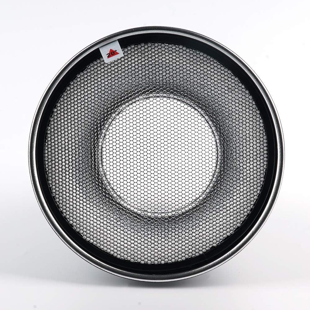 Soonpho 7 Photography Honeycomb Grid 20/°//40/°//60/° for Bowens Mount Photography Studio Strobe Flash Light Speedlite Standard Reflector
