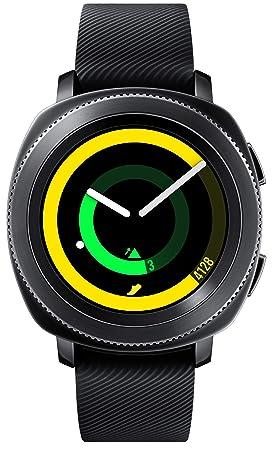 Samsung Gear Sport SM-R600 Smartwatch Reloj Inteligente para Android e iOS, Negro [Versión Internacional]