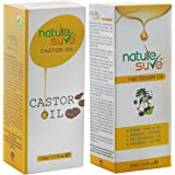 Combo of Nature Sure HAIR GROWTH OIL 100ml and CASTOR OIL 110ml ( Ricinus Communis)