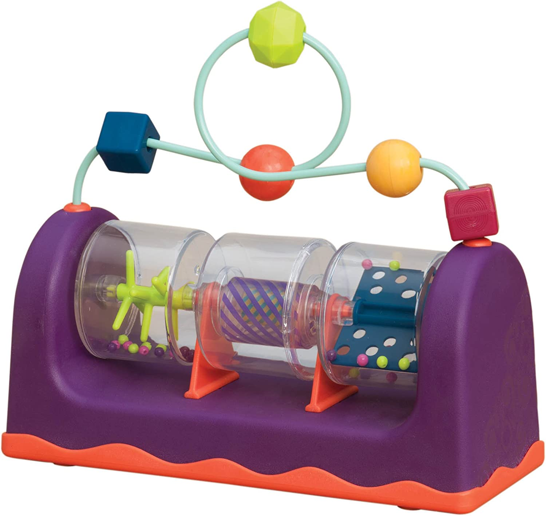 B Baby Spin - Peluche de juguete (21,6 x 9,1 x 19,7 cm, 6 meses a 3 años)