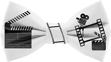 Pajarita Claqueta de Cine. Colección de moda hombre. Diseño divertido especial para cinéfilos. Hecha a mano en España. Regalo original y exclusivo: Amazon.es: Ropa y accesorios