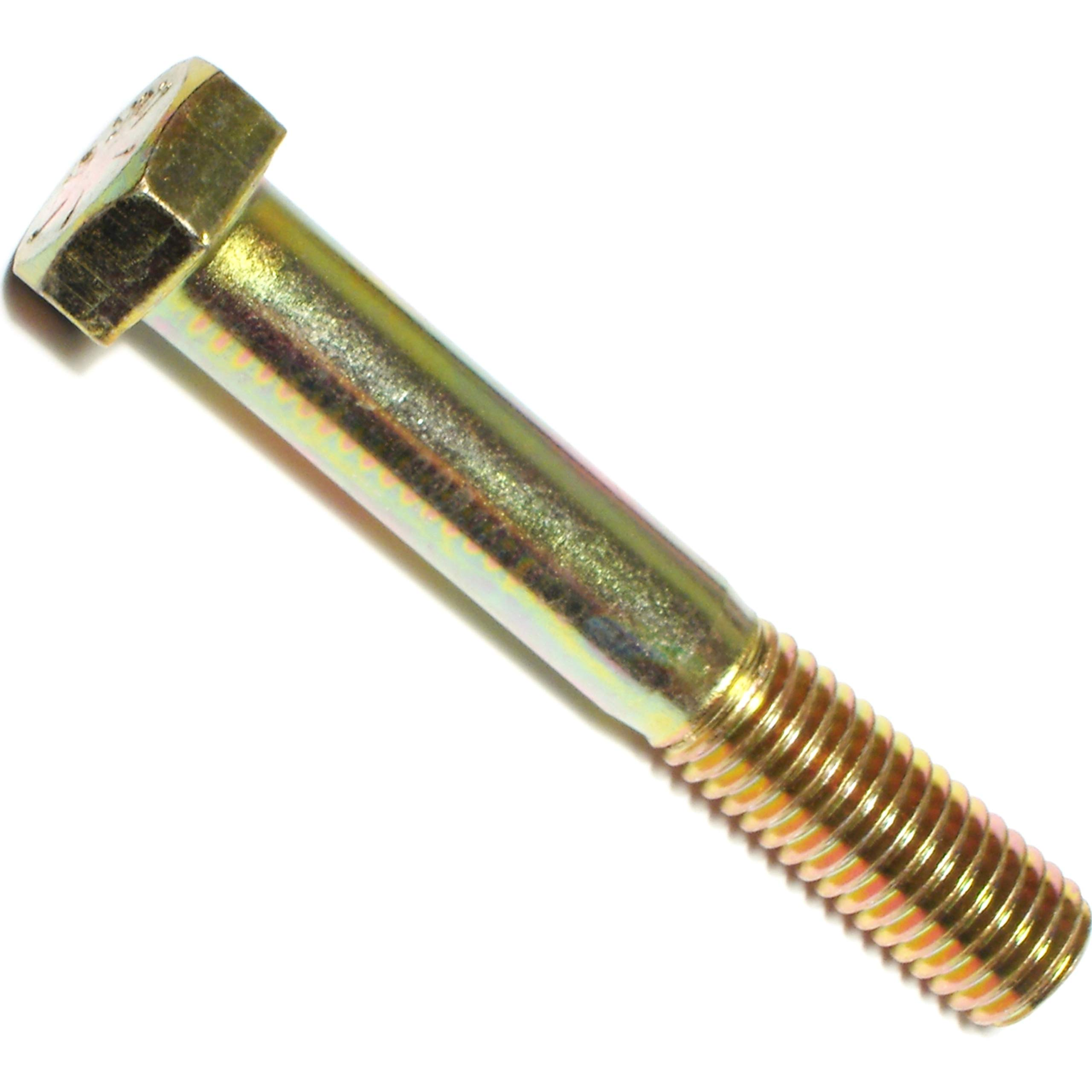 Hard-to-Find Fastener 014973254629 Grade 8 Coarse Hex Cap Screws, 5/8-11 x 4, Piece-10 by Hard-to-Find Fastener