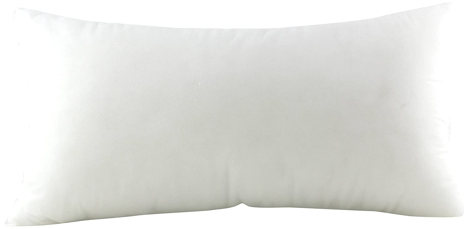 Pile of Pillows Form Insert Cushion-12X22-Inch-12 Pack 6619