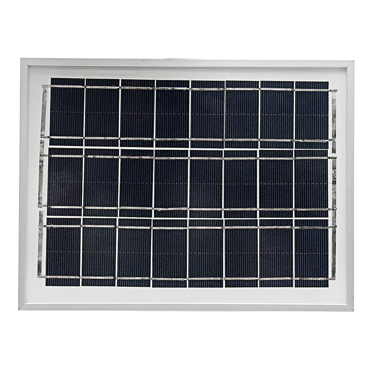 12V 4W Polycrystalline A-Class Solar Panel System For Home Garden - Electrical Equipment & Supplies Generator & Supplies -1 x Solar Panel