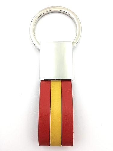 FJR-ArtPiel - Llavero bandera de España: Amazon.es: Handmade