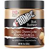 FBOMB Macadamia Nut Butter: Keto Fat Bombs, Natural Roasted Macadamia Nuts | High Fat, Low Carb Snack, Energy | Paleo…