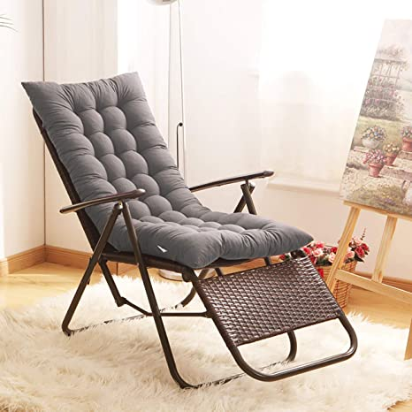 Enipate Deck Chair Sun Lounger Recliner Soft Cushion Chair Decorative Pillow For Beds Sofa Home Bedroom Sofa Thick Cushions Home Textile Table & Sofa Linens