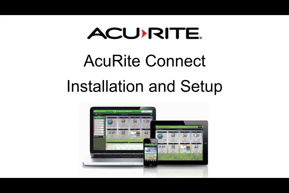 acurite 01036 wireless weather station with programmable alarms  pc connect  5