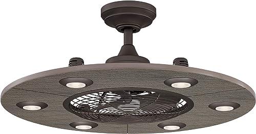 Fanimation Studio Collection LP8076BLGR Dex Ceiling Fan