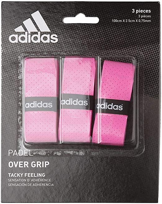 adidas Pádel OV - Set overgrip, Color Rosa, Talla única: Amazon.es ...