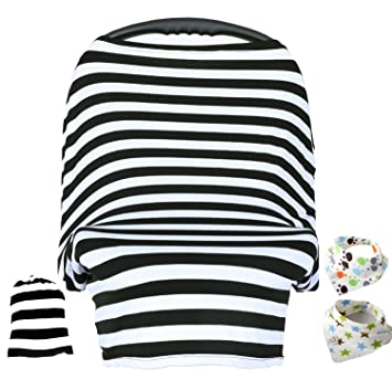 Amazon.com: Baby Car Seat Cover ,Nursing Cover,Car seat Canopy ...