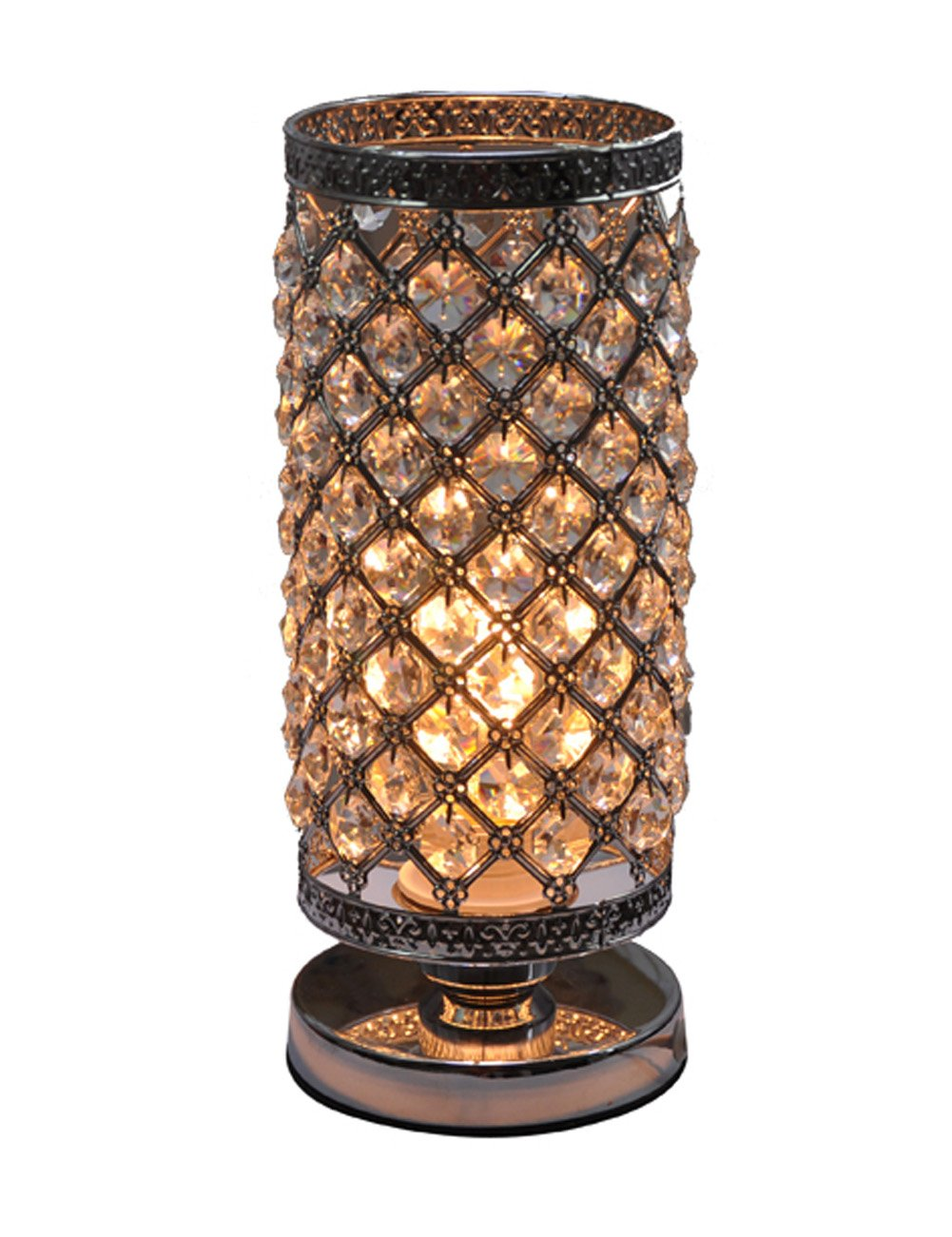 Crystal Silver Table Lamp by Surpass Lighting (Image #1)