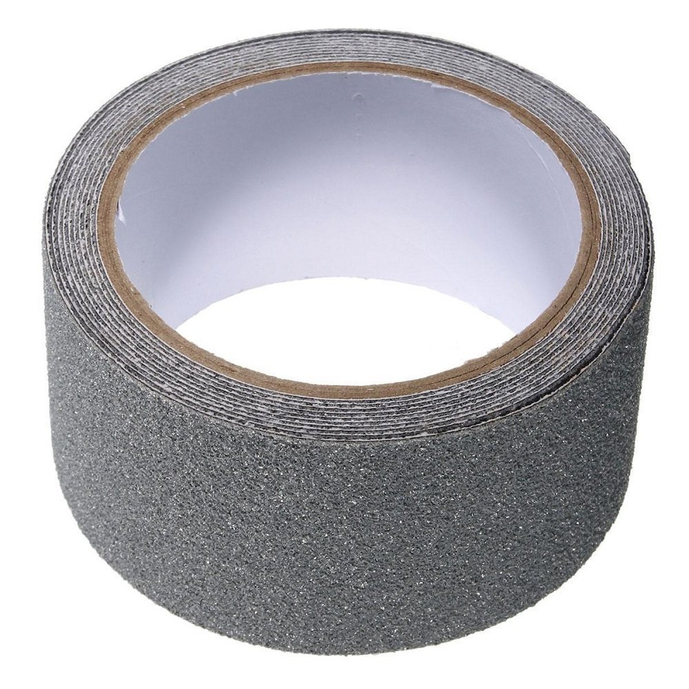 Homgaty 5CM*5M Anti Slip Tape Self Adhesive Non Skid Tape Stickers Great for Steps, Boats, Flooring Grey