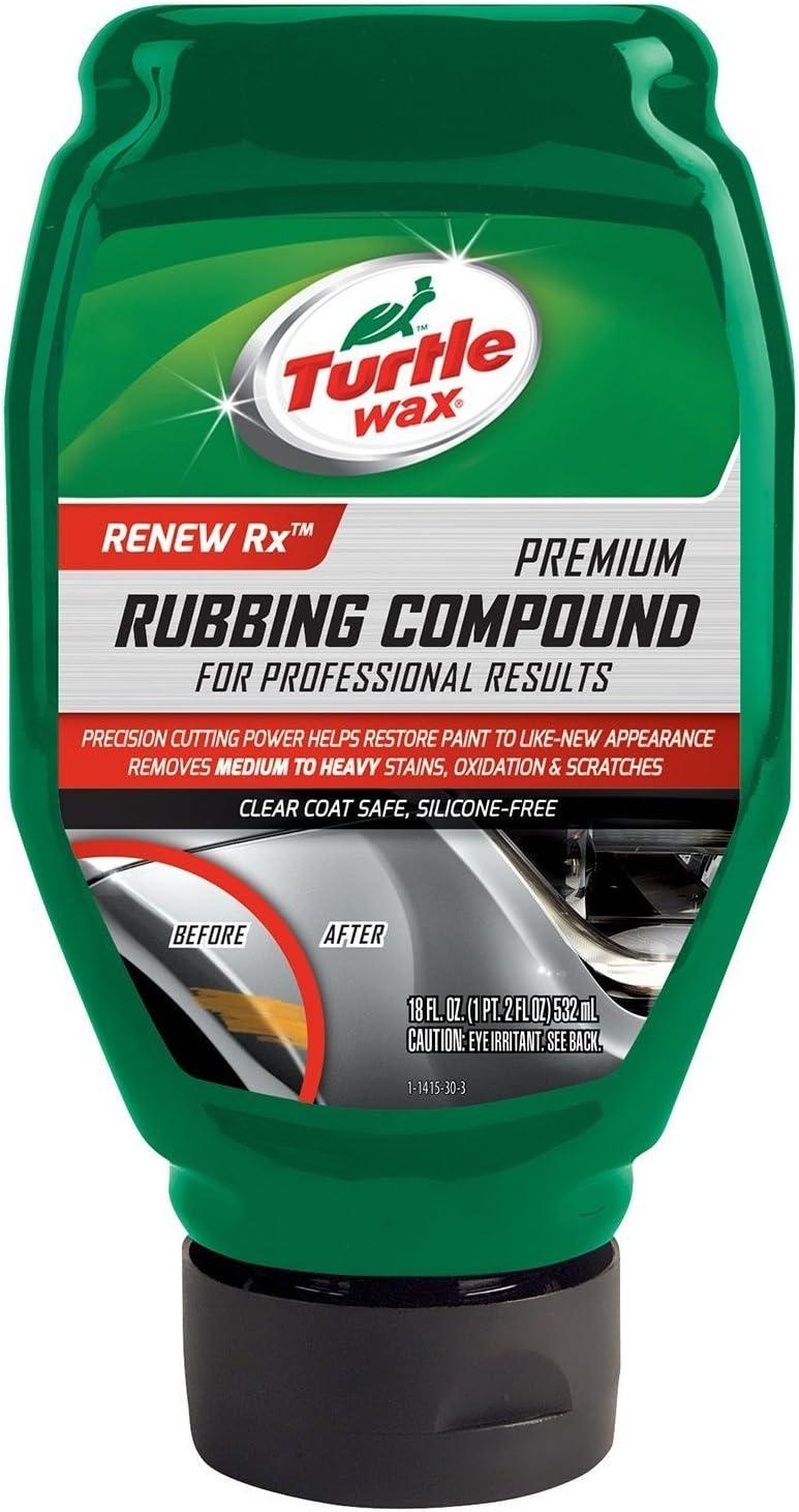 Amazon Com Turtle Wax T415 18 Oz Premium Rubbing Compound Automotive