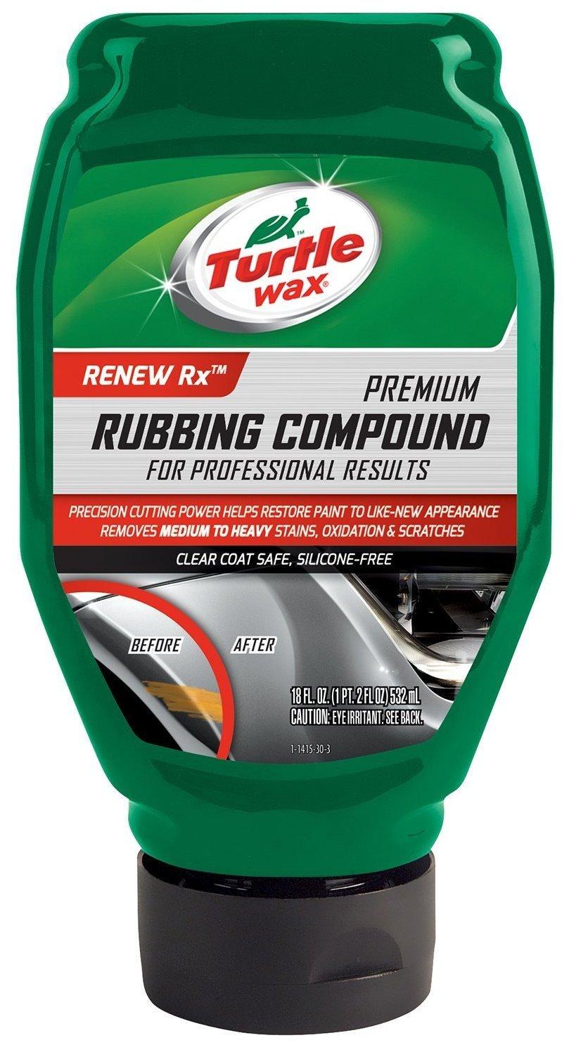 Turtle Wax T415 18 Oz Premium Rubbing Compound