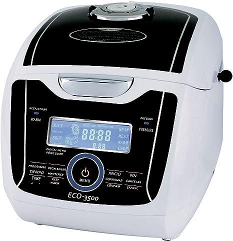 ECO-DE ECO-3500 Robot de cocina con voz Luxury Chef, 1250 W: Amazon.es: Hogar
