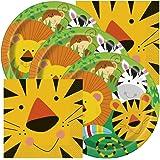amazon com otc 24 zoo animal jungle characters bubble bottles lion