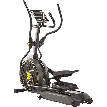 Maxxus CX 7.3e – Bicicleta elíptica /- Pedales suaves, sistema electrónico de freno