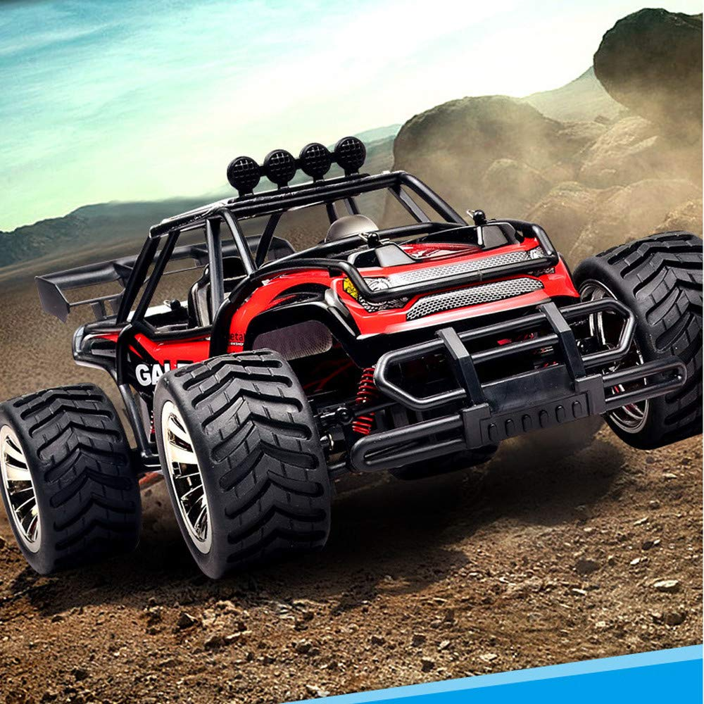 Voberry- RC Car Remote Control Car Electric Racing Car Off Road 1:16 Scale Desert Buggy Vehicle 2.4GHz High Speed Electric Race Monster Truck Hobby Rock ...