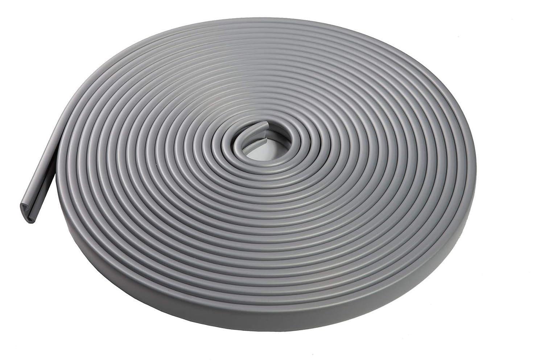 wei/ß 1m Handlauf PVC Kunststoff Treppenhandlauf 40x8 mm viele Farben