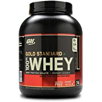Optimum Nutrition (ON) Gold Standard 100% Whey Protein Powder - 5 lbs, 2.27 kg (Double Rich Chocolate)
