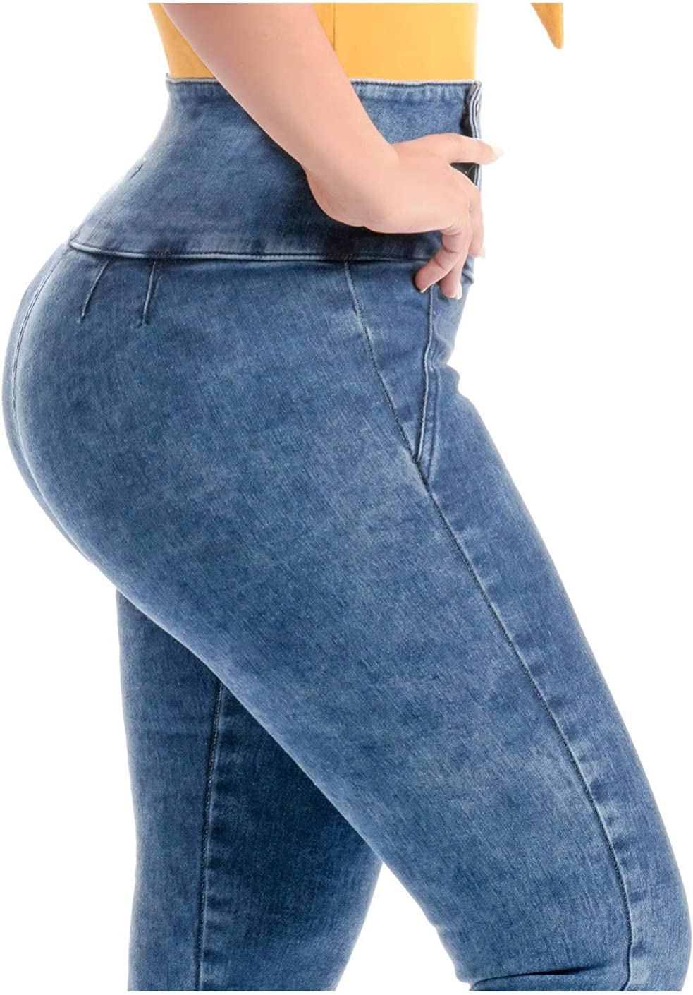 Lowla Colombian Butt Lifting Capri Jeans For Women Pantalones Colombianos Levanta Cola At Amazon Women S Jeans Store