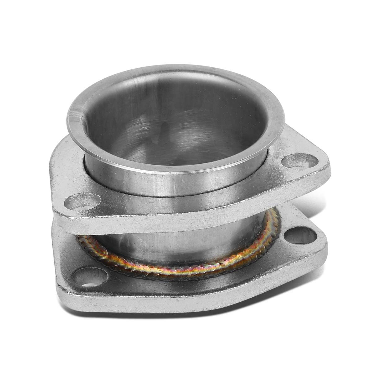 DNA Motoring ADTCBE225 2.25'' Extension Exhaust Flange Adaptor