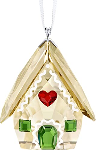 SWAROVSKI Gingerbread House Ornament, 1 1 2 X 1 1 8 , Brown Crystal