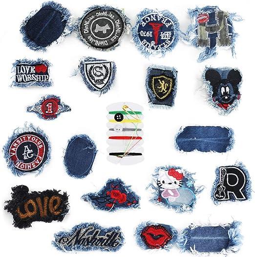 Patch Sticker ManLee 20Pcs Parches Ropa Infantiles Parches ...