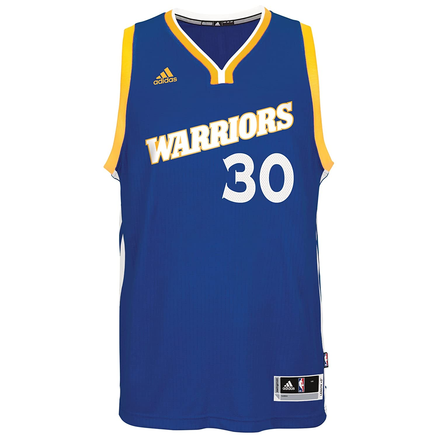 Amazon.com   Stephen Curry Golden State Warriors  30 NBA Youth Stretch  Crossover Swingman Blue Jersey   Sports   Outdoors 3bf02fda6