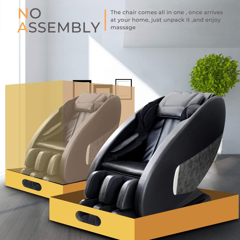 Amazon.com: OOTORI Zero Gravity Silla de masaje, cuerpo ...