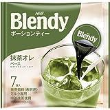 AGF ブレンディ ポーションティー 抹茶オレベース 7個×12袋
