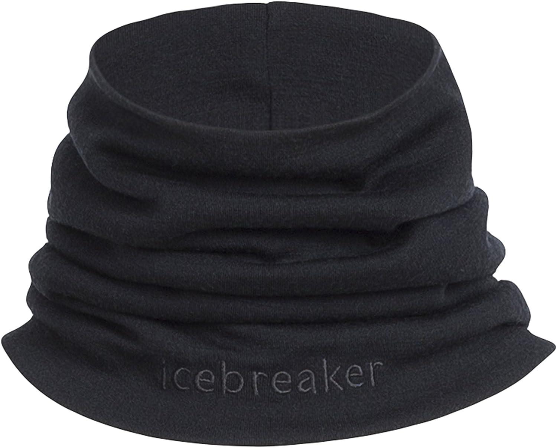 Icebreaker Merino Unisex-Adult Apex Merino Wool Chute Neck Gaiter