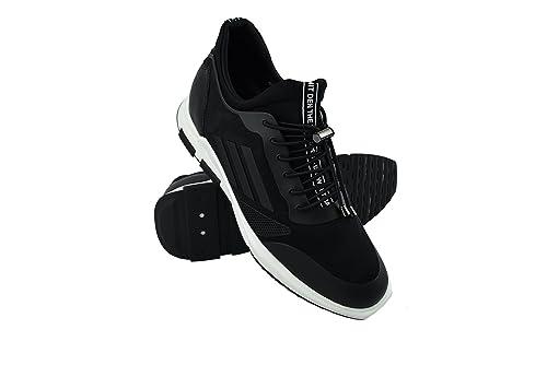 Zerimar Zapatos con Alzas Hombre| Zapatos Deportivos con Alzas Que Aumenta su Altura + 7