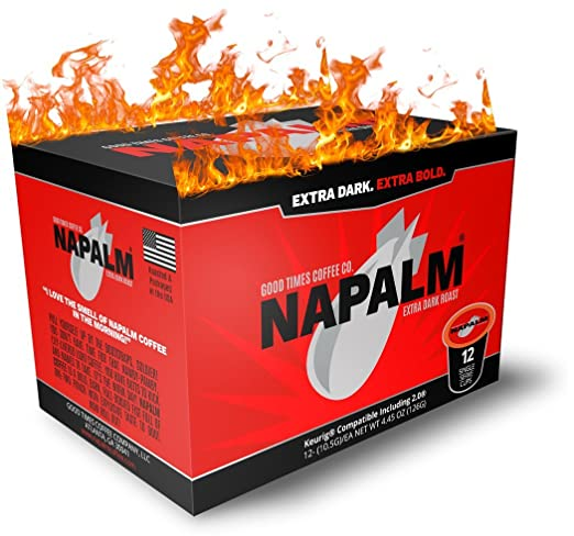 Napalm Coffee EXTRA BOLD Single Serve Cups