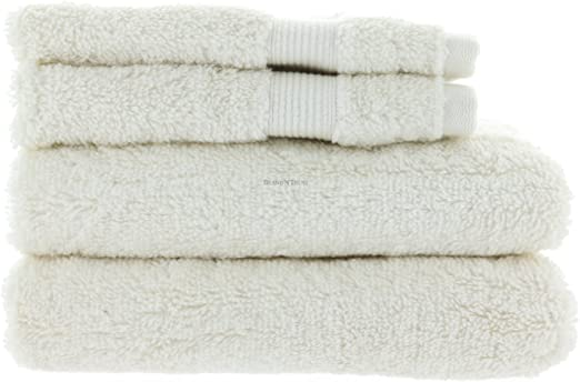 Amazon Com Mirabella 4 Piece Towel Set With 2 Hand Towels And 2