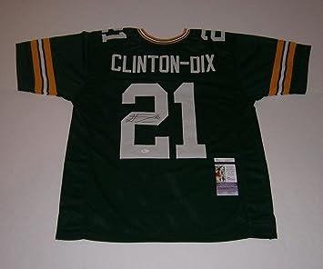 Signed Ha Ha Clinton-Dix Jersey - custom w   21 COA - JSA Certified ... 0545573b0