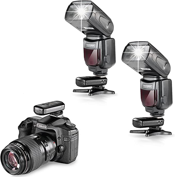 Neewer nw-562 E-TTL Flash Speedlite Kit para Canon cámara réflex ...
