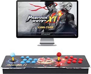 Best brose Pandora Treasure 3D Arcade Game Console - 2706 Games Installed, Search Games, Support 3D Games, 1280x720P, Favorite List, 4 Players Online Game, 2 Player Game Controls (Red)
