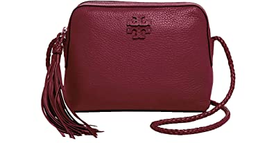 c7d18c1fc6dd Image Unavailable. Image not available for. Color  Tory Burch Women s  Leather Taylor Camera Crossbody Bags ...