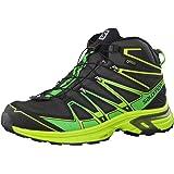 Salomon L39046600, Chaussures de Randonnée Hautes Homme, Noir, 43 EU