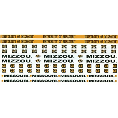 Sports Solution Missouri Tigers Border Sticker: Arts, Crafts & Sewing