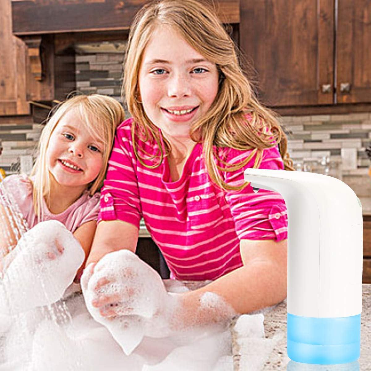 per Cucina e Bagno UptoBillions Dispenser Automatico di Sapone con sensore di Movimento a infrarossi Funzionamento a Batteria Blu Scuro